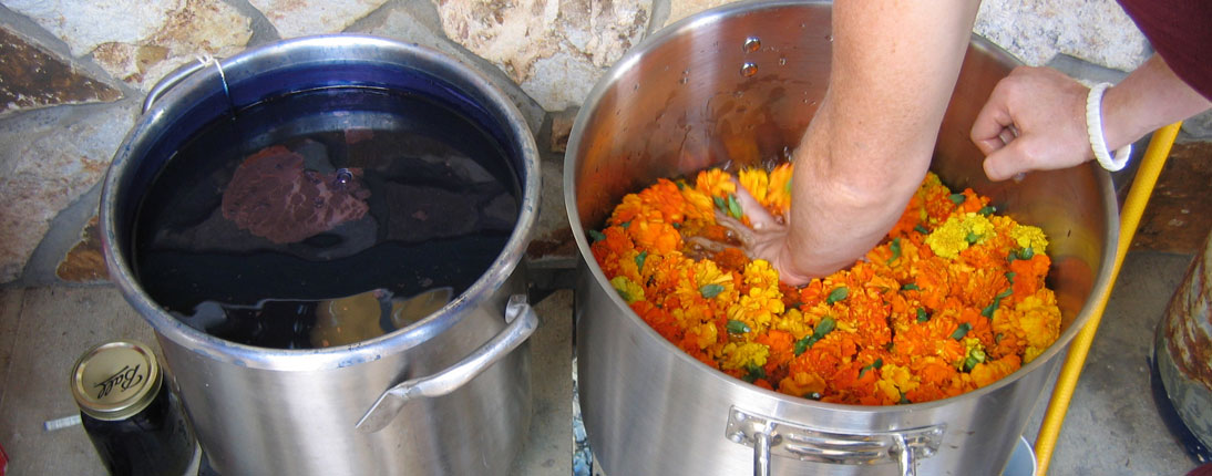 Natural-Dyeing